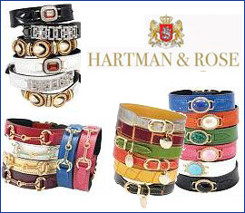 hartman and rose designer dog collars and leads leashes