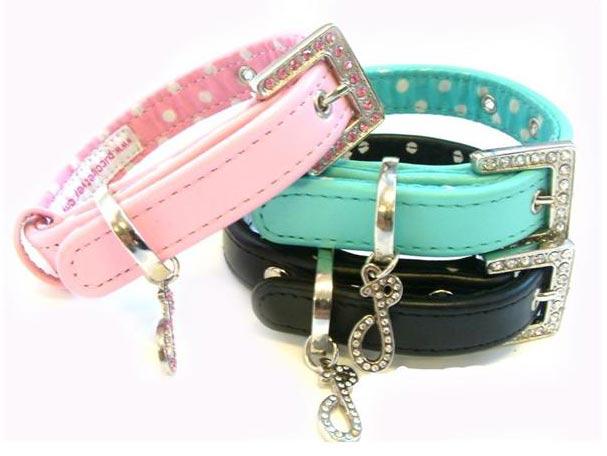 Gallery for designer jeweled dog collars - Designer small dog collars ...