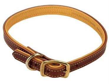Weaver Deerskin Lined Dog Collars