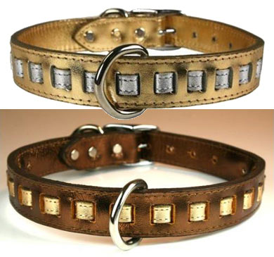 ff3cf193b7e97f Leather Collars-4-Dogs  Studded Dog Collars under  20.00