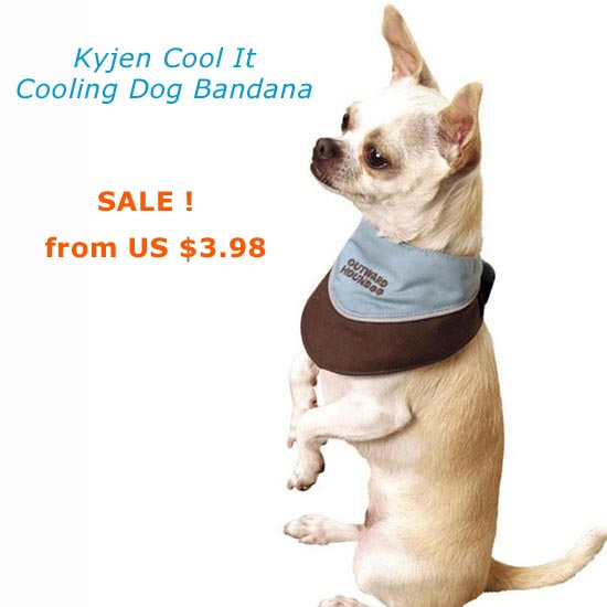 sale cooling dog bandana